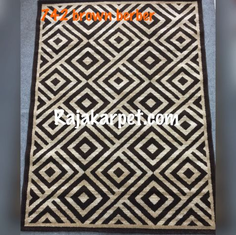 Karpet Permadani TWIST 16 742_brown_berber