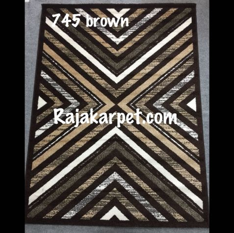 Karpet Permadani TWIST 12 745_brown