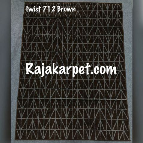 Karpet Permadani TWIST 7 twist_712_brown